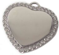Personalised Engraved Heart Pendant